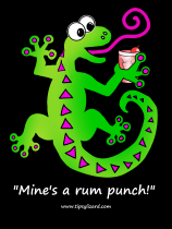 3. T-shirt - Mines a rum punch