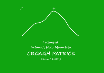 Croagh Patrick - sample - cross