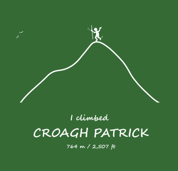 Croagh Patrick - sample - man