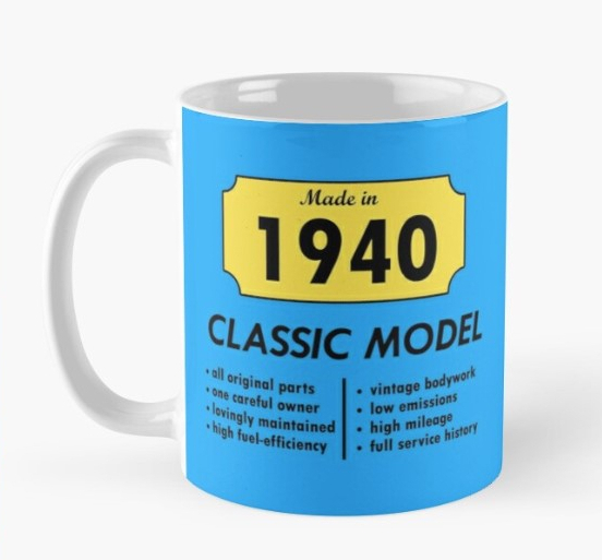 Classic Model 1940 Mug for sale on RedBubble