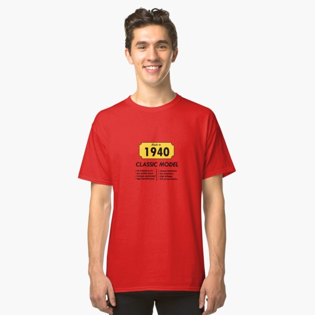 Classic Tshirt for sale on Redbubble